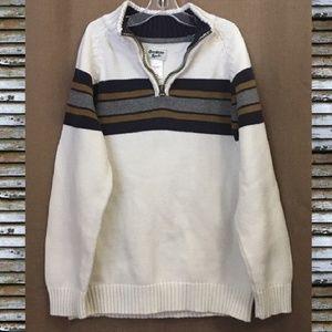 Boy's OshKosh B'gosh Quarter Zip Sweater